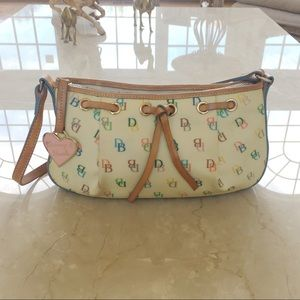 Dooney & Bourke Vintage Colorful Shoulder Bag